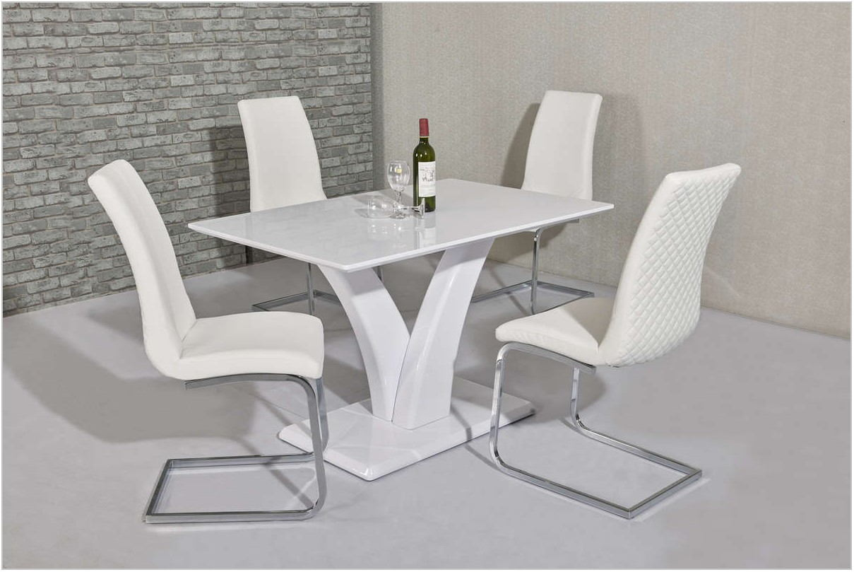 White Dining Room Chairs Set Of 4