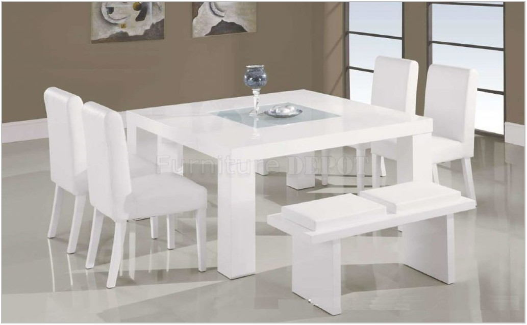 White Dining Room Table Chairs