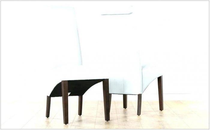 White Faux Leather Dining Room Chairs