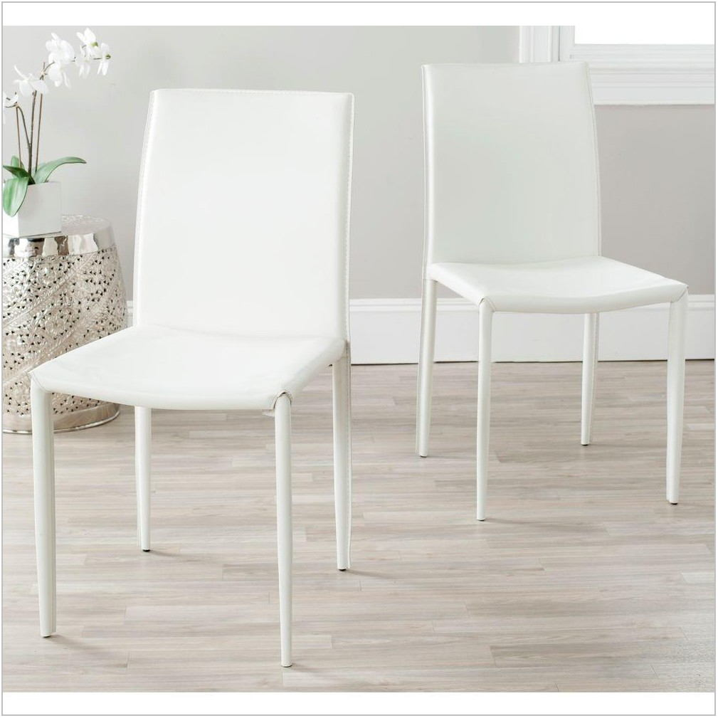 White Modern Chairs Dining Room
