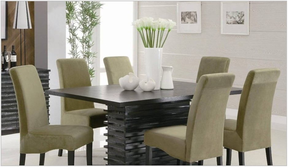 White Rectangle Dining Room Table