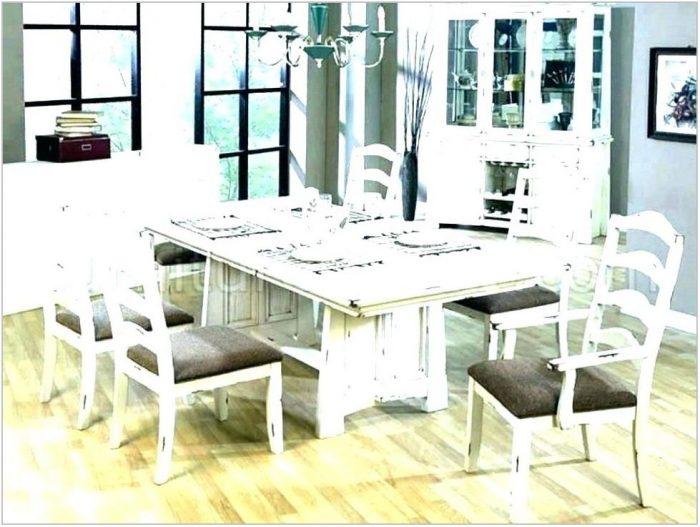 White Washed Dining Room Set