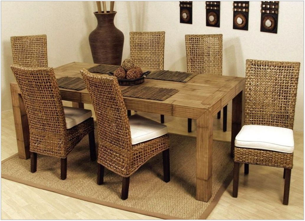 Wicker Dining Room Furniture