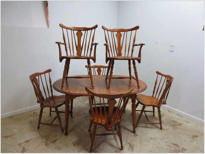 Windsor Back Dining Room Chairs