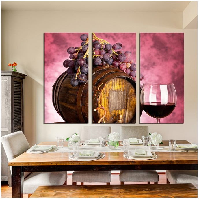 Wine Decor For Dining Room