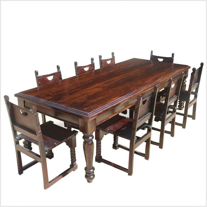 Wood Dining Room Table Chairs