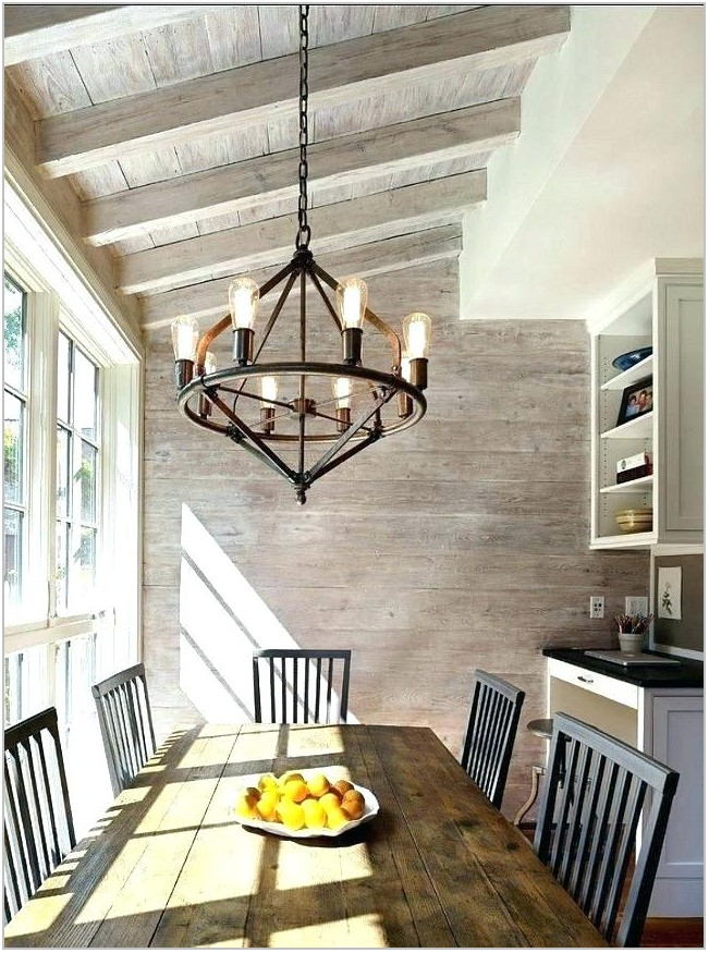 Wooden Dining Room Chandeliers