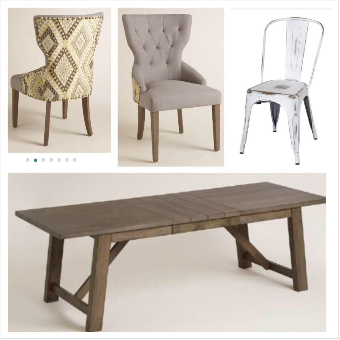 World Market Dining Room Table And Chairs