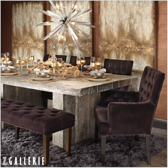 Z Gallerie Dining Room Sets