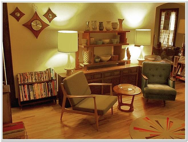 1950s Living Room Ideas