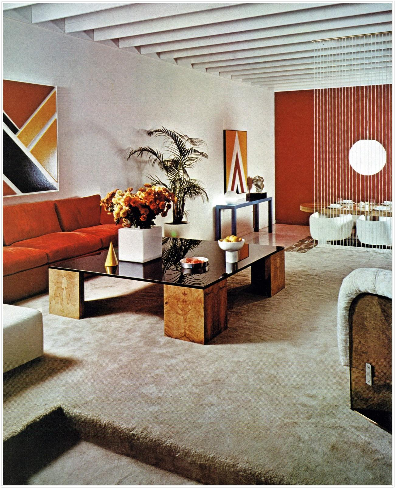 1970s Living Room Ideas
