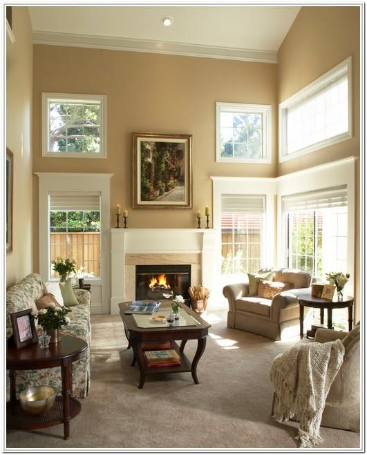 2 Tone Living Room Paint Ideas
