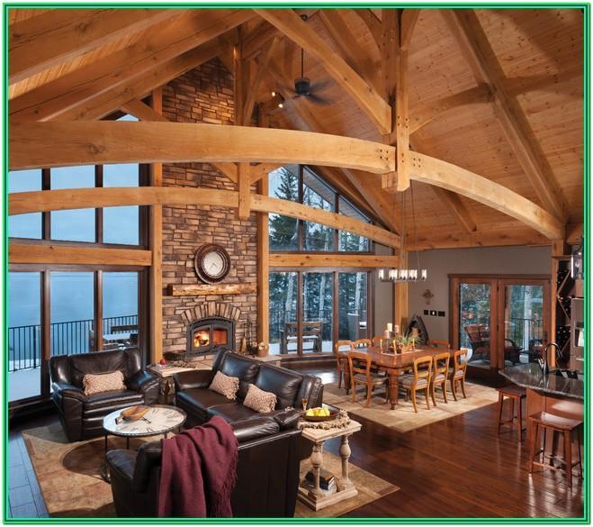 A Frame Living Room Ideas