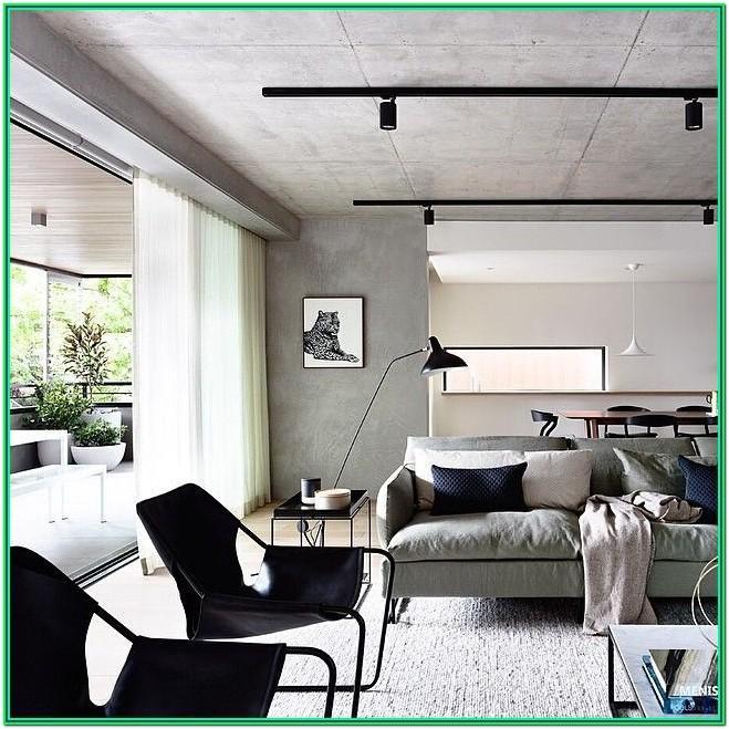 Achromatic Living Room Ideas