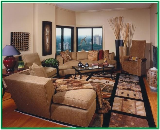African Oreiental Theme For Living Room Ideas