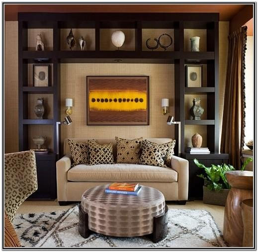 African Safari Themed Living Room