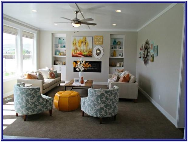 Agreeable Grey Living Room