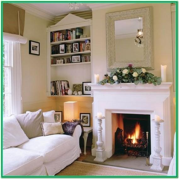 Alcove Storage Ideas Living Room