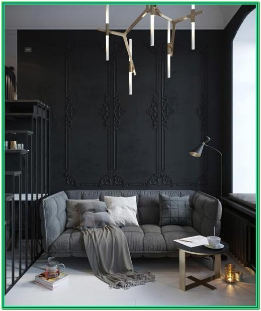 All Black Living Room Ideas