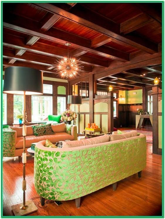 American Foursquare Living Room Ideas