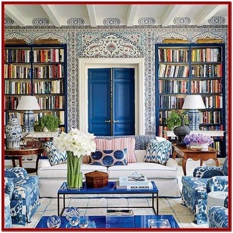 Architectural Digest Living Room Images