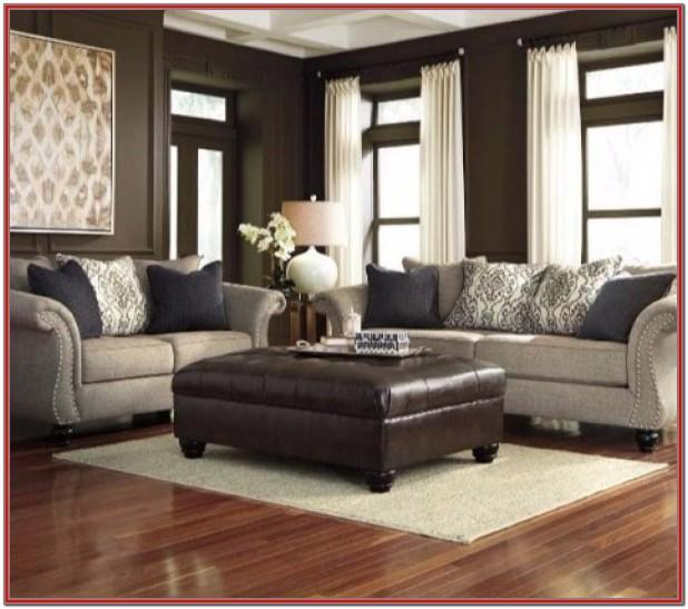 Ashley Furniture Brown Living Room Set