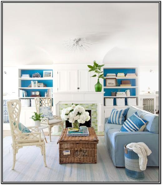 Beach Inspired Living Room Decorating Ideas