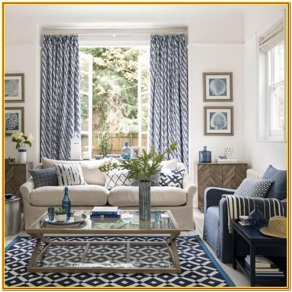 Beige And Navy Blue Living Room Ideas