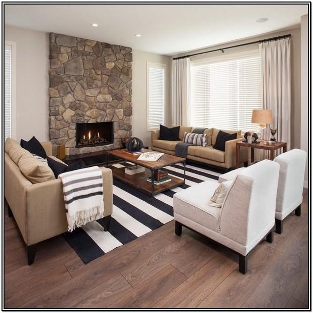 Black And Beige Living Room