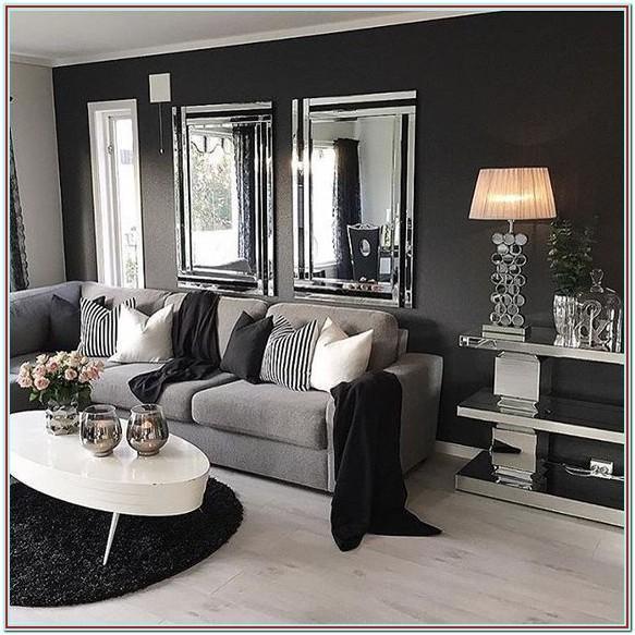 Black And White Living Room Ideas Pinterest