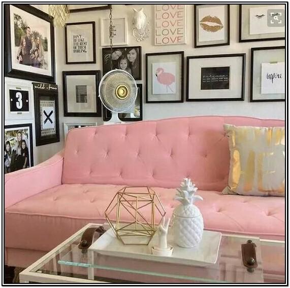 Black Futon Living Room Ideas