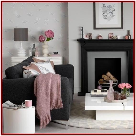 Black Sectional Living Room Decor