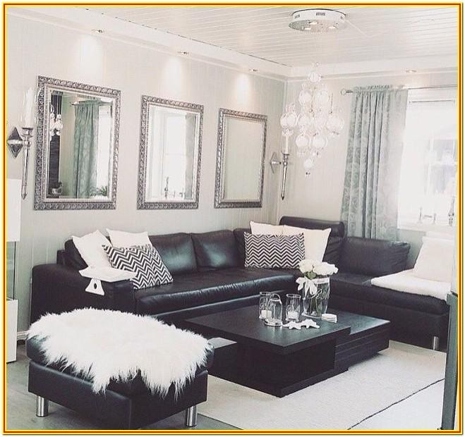 Blackcouch Living Room Ideas