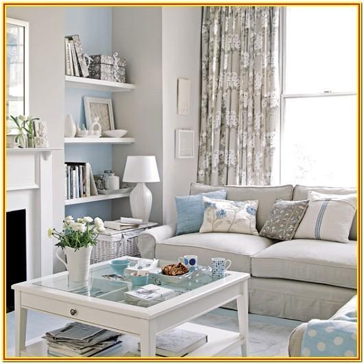 Blue And Sliver Living Room Ideas
