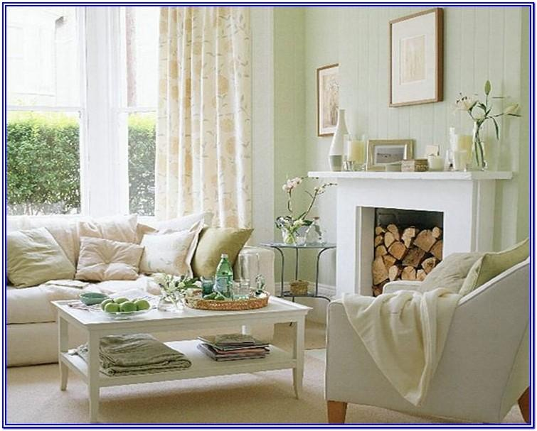Blue And White Living Room Paint Ideas
