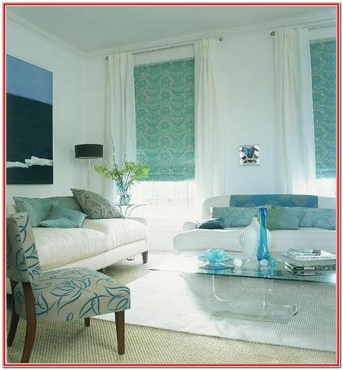 Blue Aqua Living Room Colors