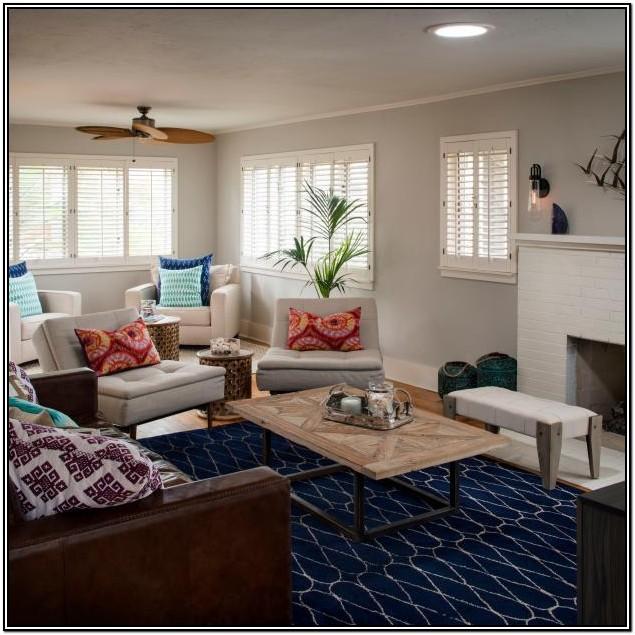 Blue Carpet Living Room Ideas