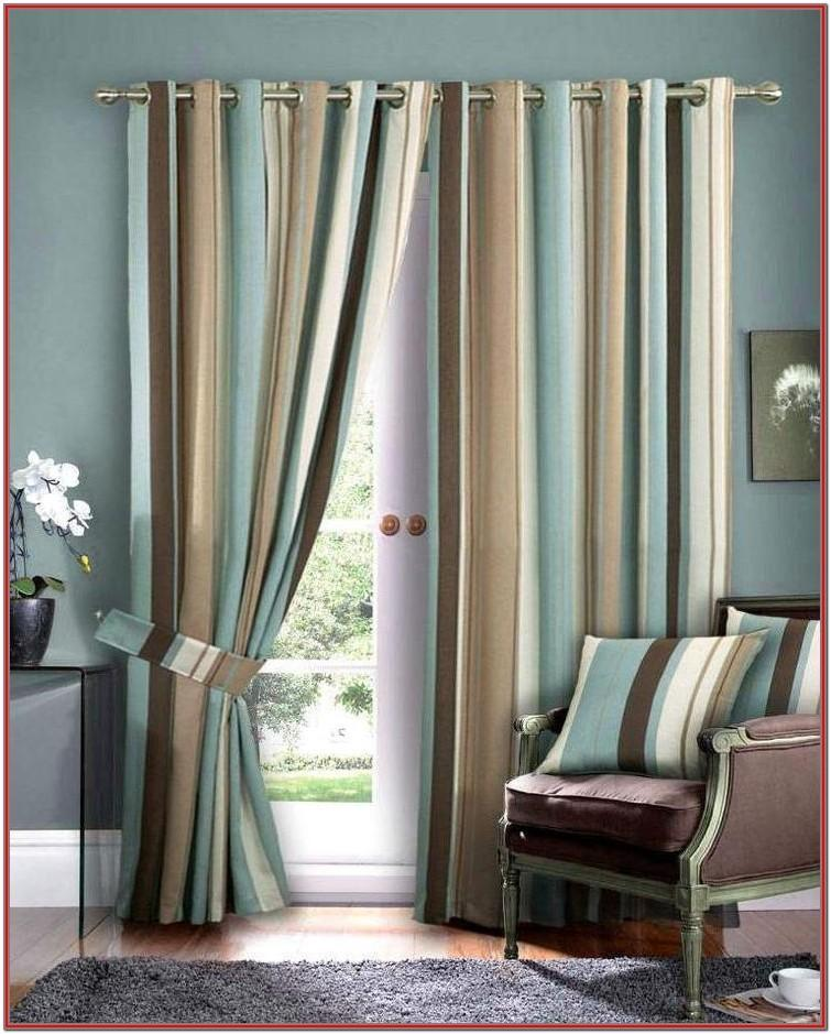 Blue Elegant Curtains For Living Room