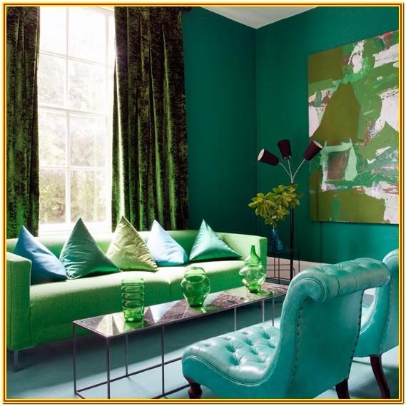 Blue Green Living Room Ideas
