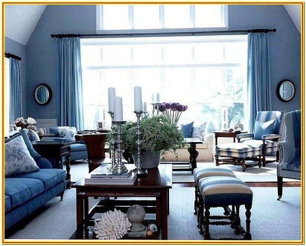 Blue Interior Design Ideas Living Room