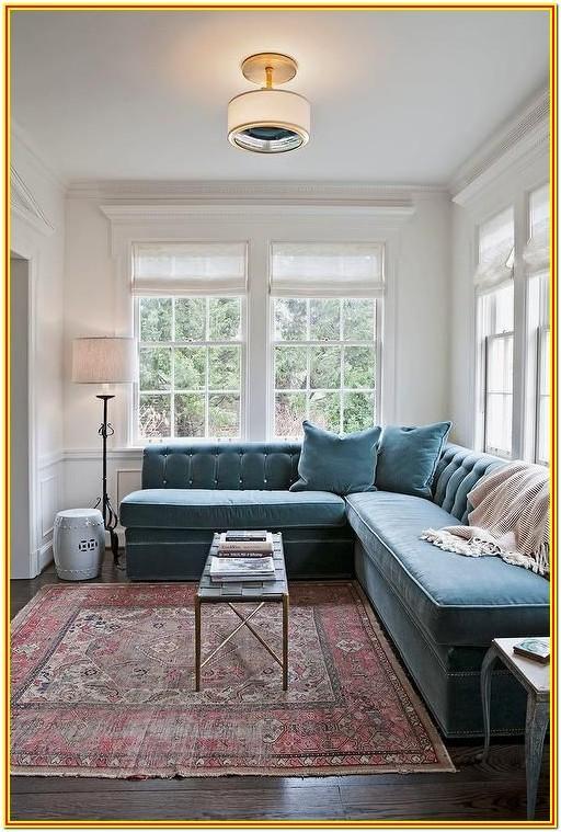 Blue Rug Living Room Design Ideas