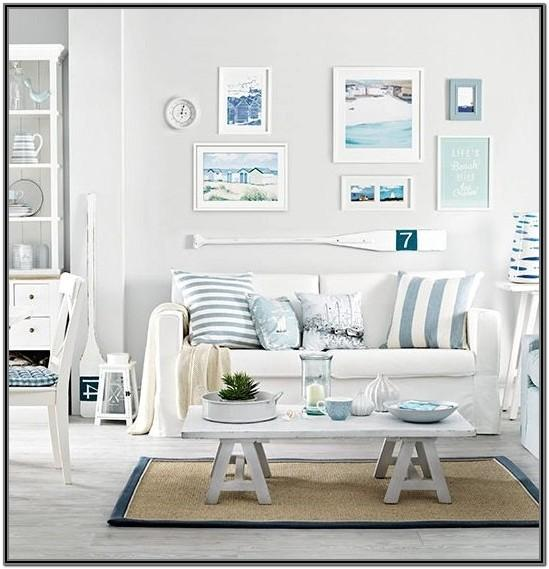 Blue Themed Living Room Ideas