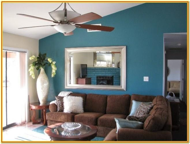 Brown Living Room Interior Paint Colors