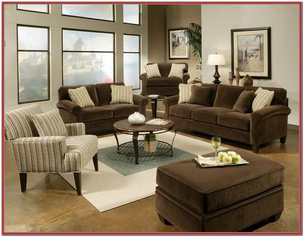 Brown Living Room Set Decor