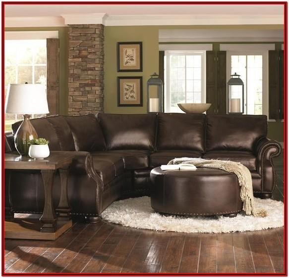 Brown Sectional Living Room Decor