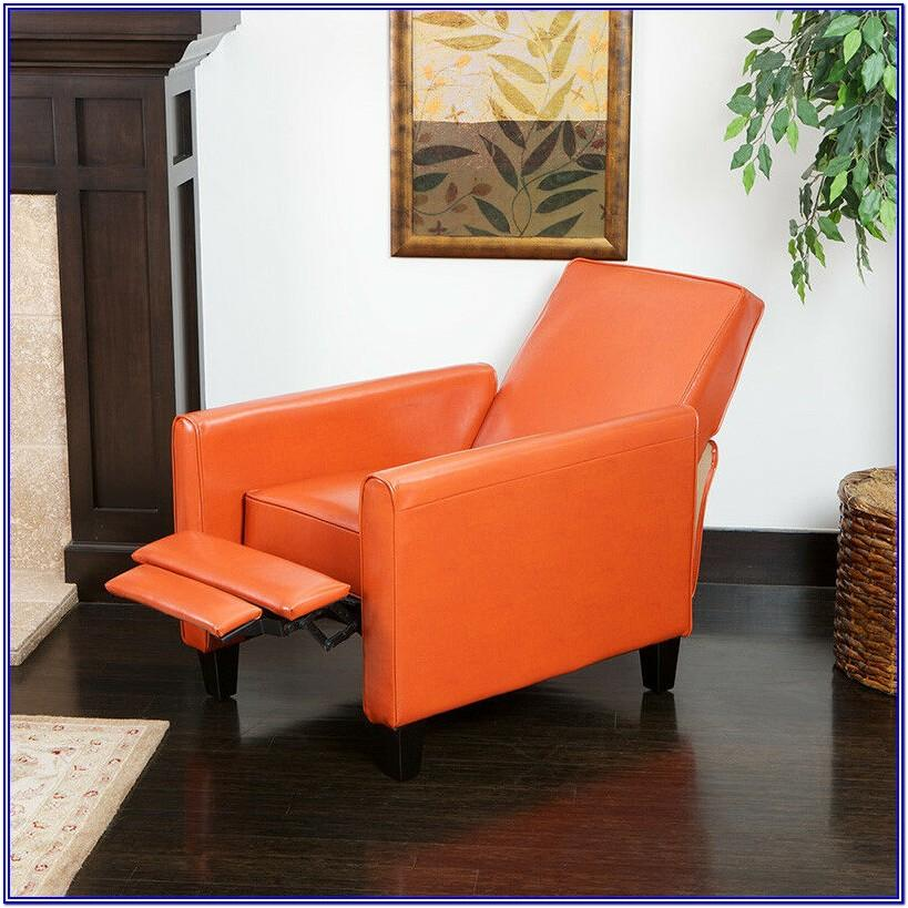 Burnt Orange Leather Living Room Set