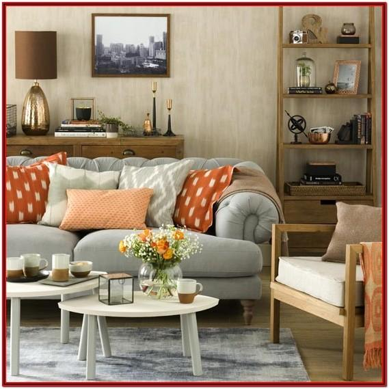 Burnt Orange Living Room Furniture