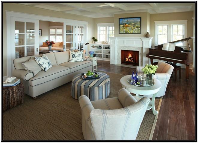 Casual Coastal Living Room Ideas