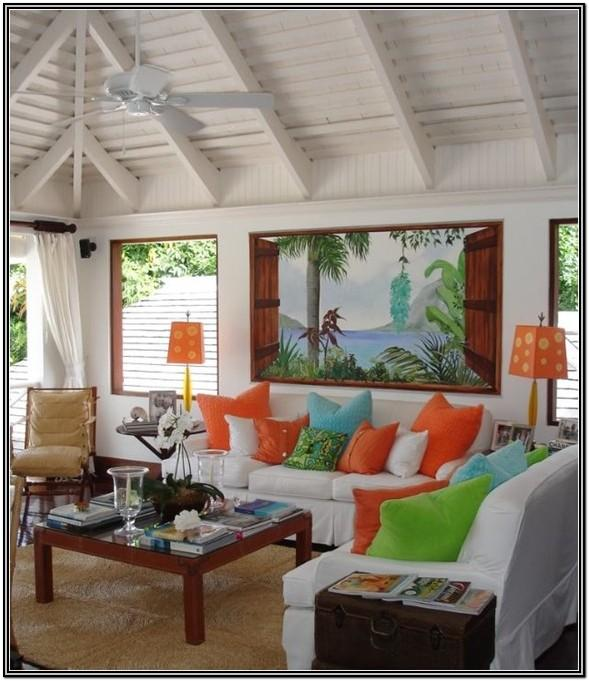 Ceiling Ideas For Living Room Tropical