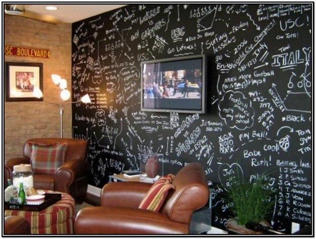 Chalkboard Living Room Ideas